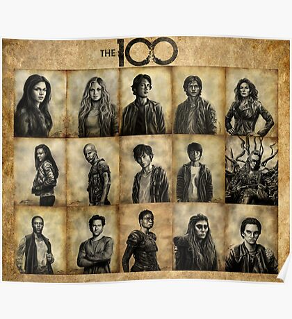 The 100 poster 2 Poster
