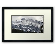 Rocky Mountains Framed Print