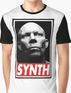 VINCE CLARKE, SYNTH - OBEY Inspired Design Graphic T-Shirt