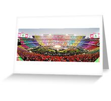 Coldplay - Super Bowl 50 Half Time Show Greeting Card