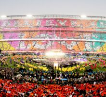 Coldplay - Super Bowl 50 Half Time Show Sticker