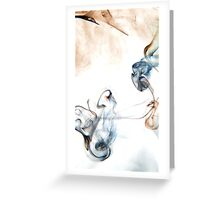 Where there is smoke there is fire Greeting Card