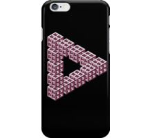 Impossible Optical Illusion Triangle Sticker T-Shirt Cell Phone Case iPhone Case/Skin