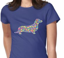 Dachshund, Easter Jellybean Womens Fitted T-Shirt