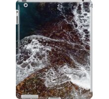 Natural Abstract - Water Over Rocks iPad Case/Skin
