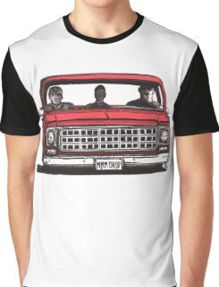 MMM DROP in red Graphic T-Shirt