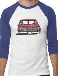 MMM DROP in red Men's Baseball ¾ T-Shirt