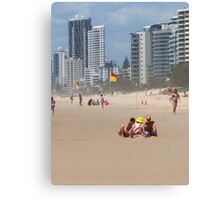 Sandcastles and Highrises Canvas Print