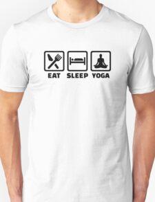 Eat sleep yoga T-Shirt