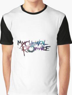 My Chemical Romance Galaxy White Graphic T-Shirt