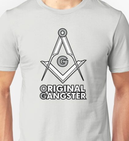 OG - Original Gangster Freemasonic Unisex T-Shirt