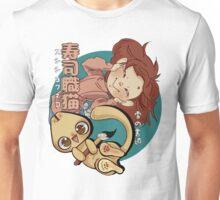 Sushi Chef Neko - Snow Shodou - Junpei and Anzu Design 1 Unisex T-Shirt