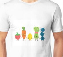 Fruit and Veggie Friends  Unisex T-Shirt