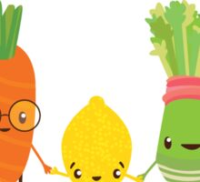 Fruit and Veggie Friends  Sticker