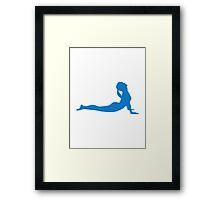 Yoga meditation Framed Print