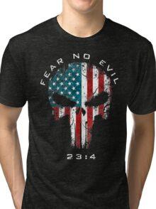 American Punisher - Fear No Evil Tri-blend T-Shirt