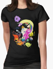 Adventure Time Character RC Womens Fitted T-Shirt