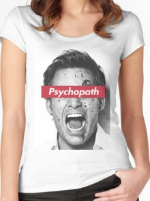 psychopath Women's Fitted Scoop T-Shirt