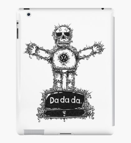 DA DA DA iPad Case/Skin
