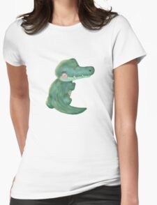 Wee Croco Womens Fitted T-Shirt