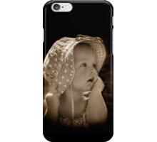 Hang onto your Hat Little Girl iPhone Case/Skin