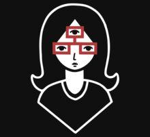 Third Eye Glasses Baby Tee