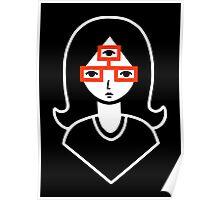 Third Eye Glasses Poster