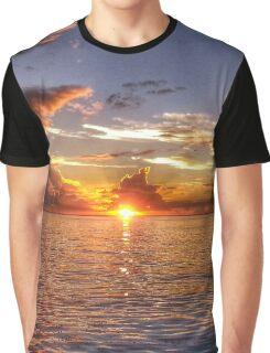 TAHITIAN SUNSET Graphic T-Shirt