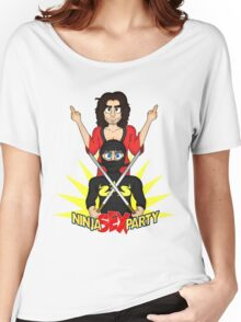 Rock on, Ninja Sex Party! Women's Relaxed Fit T-Shirt