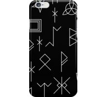 Runes Of Mystery iPhone Case/Skin