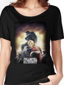 Fullmetal Alchemist - Brotherhood Anime Women's Relaxed Fit T-Shirt