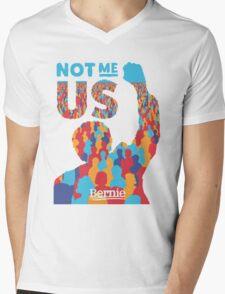 BERNIE SANDERS Mens V-Neck T-Shirt