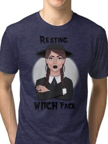 Resting Witch Face Tri-blend T-Shirt