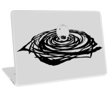 Spiral Moon Laptop Skin