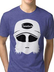 Cooter black on white Tri-blend T-Shirt