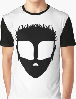Timmut, White on Black Graphic T-Shirt