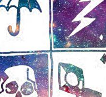 Umbrella Academy Emblem Galaxy Sticker