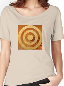 Wood Work Circles Women's Relaxed Fit T-Shirt