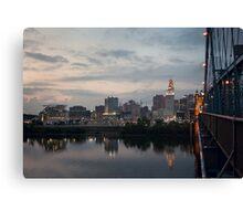 Cincinnati at Dusk Canvas Print