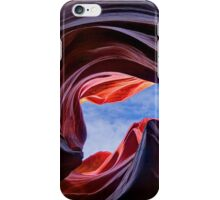 Looking skyward iPhone Case/Skin