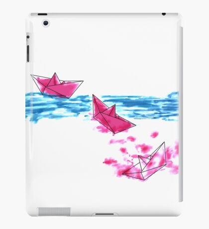 Paper Boats iPad Case/Skin