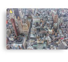 Manhattan New York City cityscape Canvas Print