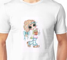 Sherri Baldy My-Besties TM Movie Night  Unisex T-Shirt
