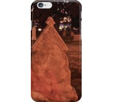 Ghost at Her Tomb iPhone Case/Skin