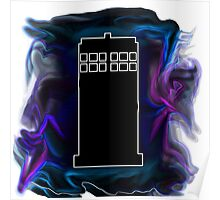 The Black Tardis Poster