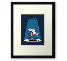 Sonic In Moscow Framed Print
