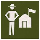Outdoor Recreational Park Ranger Road Sign by surgedesigns