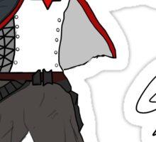 Arkham Knight Red Hood Sticker