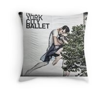 New York City Ballet Throw Pillow