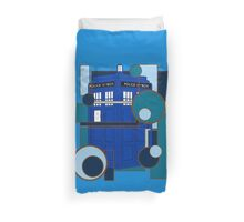 Blue Box Duvet Cover
